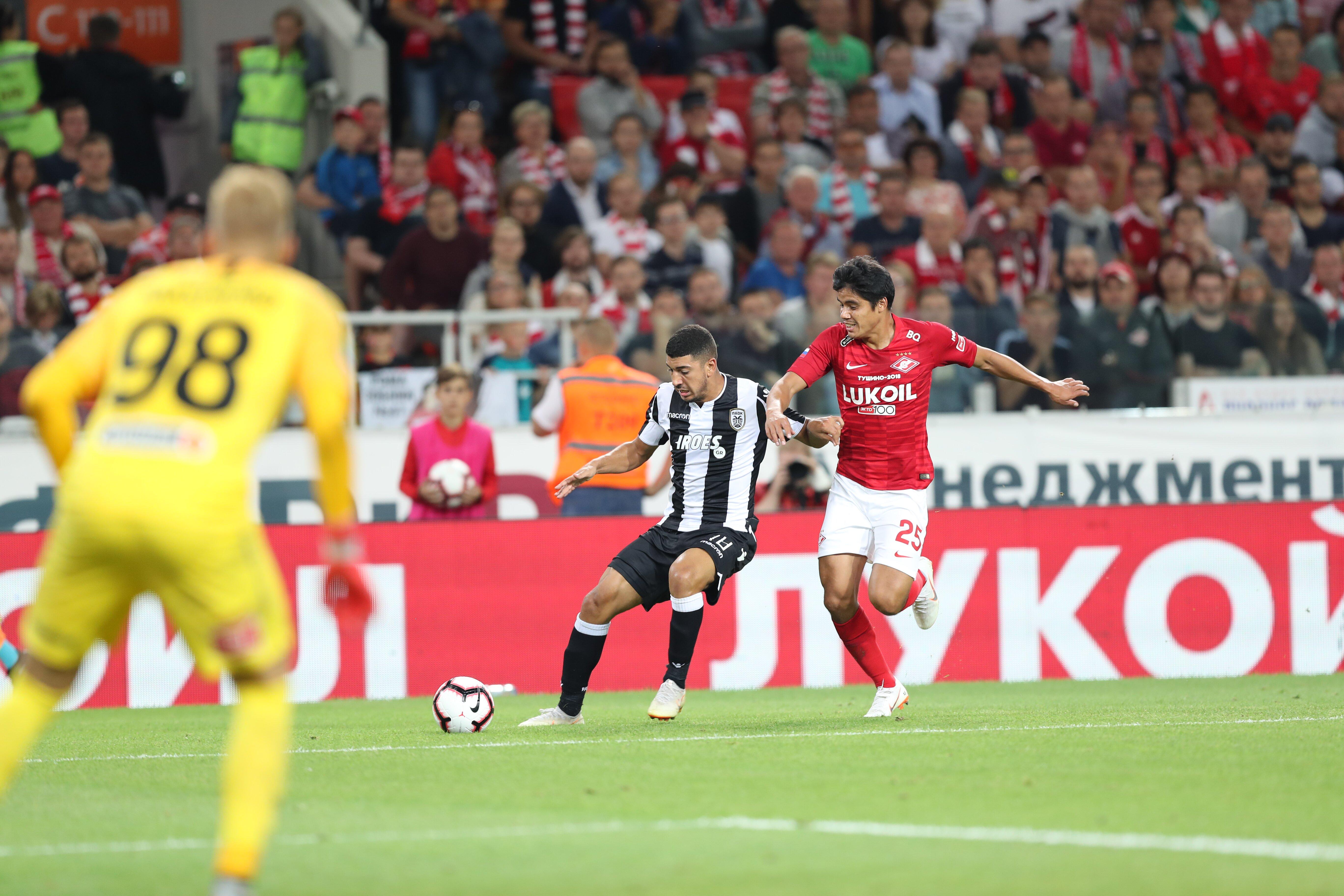 «Спартак» завершил выступление в Лиге чемпионов