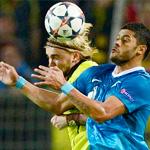 «Зенит» выиграл в Дортмунде, но выбыл из Лиги чемпионов