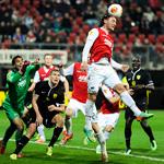 «Анжи» проводит ответный матч 1/8 финала Лиги Европы