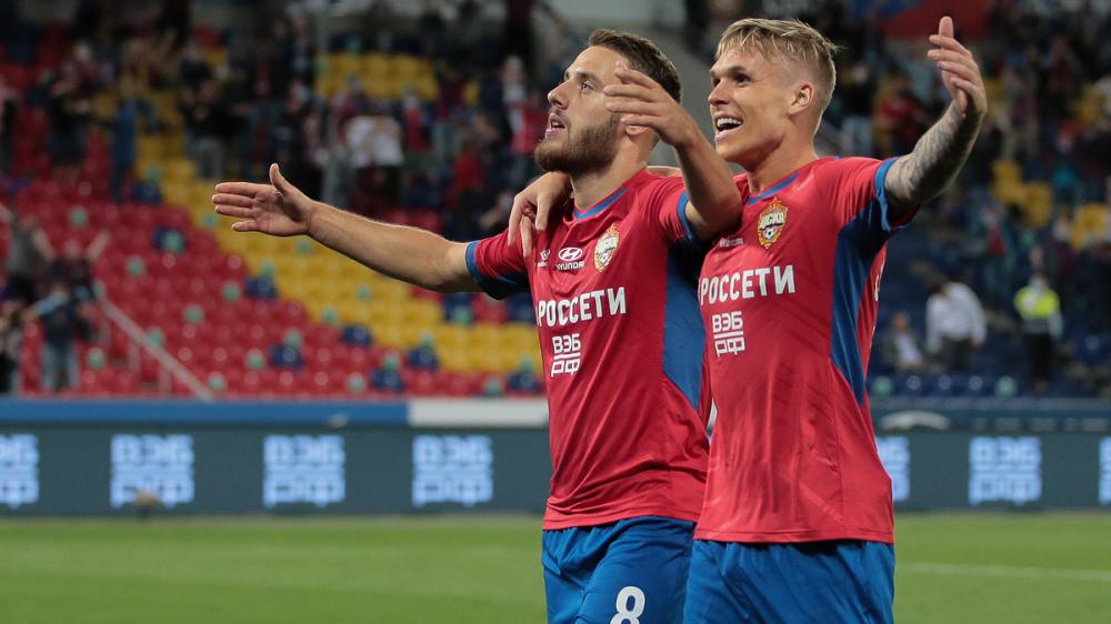 ЦСКА обыграл «Спартак» благодаря дублю Влашича