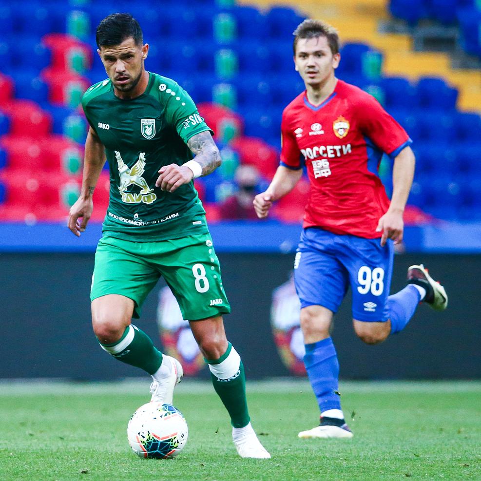 ЦСКА сыграл вничью с «Рубином»