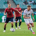 Сборная Чехии проиграла Дании в 1/4 финала Евро-2020, Крал не вышел на поле