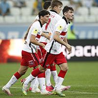 «Спартак» обыграл «Ротор» благодаря голу Бакаева и остался на втором месте
