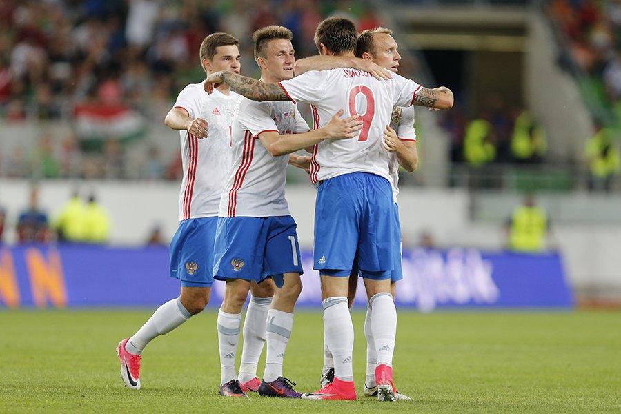 Сборная России начала подготовку к Кубку Конфедераций с победы