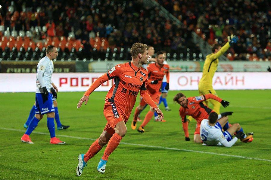 «Динамо» не смогло одолеть «Урал» в Екатеринбурге