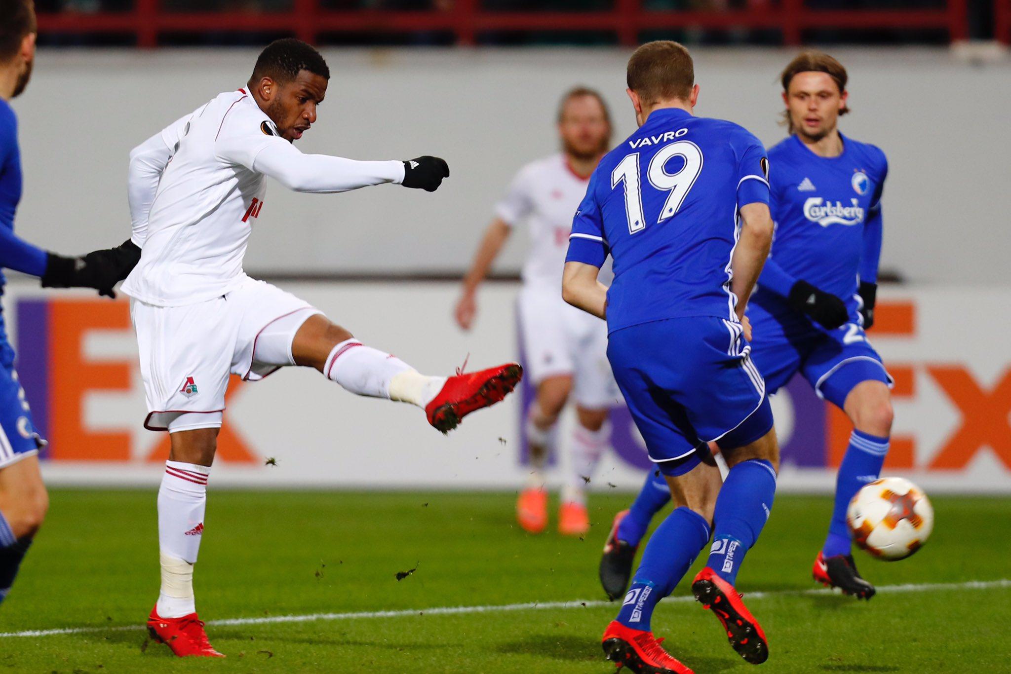 «Локомотив» и «Зенит» одержали победы в Лиге Европы