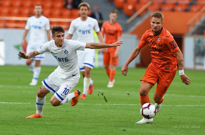 «Урал» и «Динамо» сыграли вничью