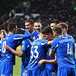 «Динамо» победило «Ахмат» в Грозном