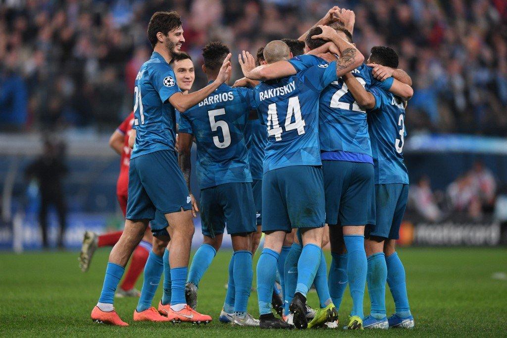 «Зенит» одержал очередную победу в Лиге чемпионов