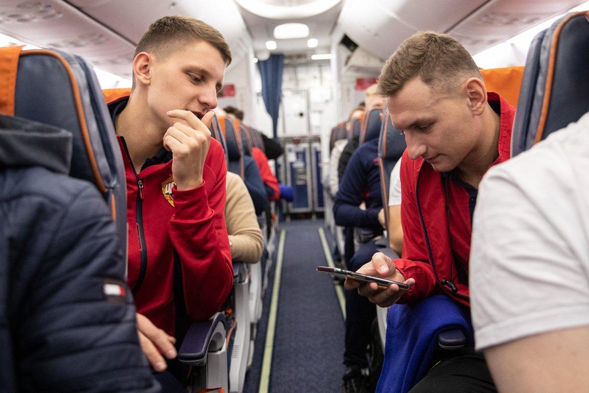 ЦСКА вылетел в Испанию