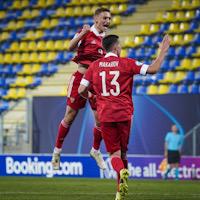 Молодёжная сборная России разгромила Исландию в первом матче Евро-2021