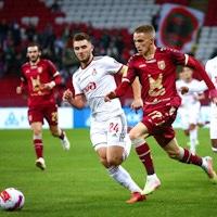 «Рубин» и «Локомотив» сыграли вничью