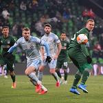 «Краснодар» проиграл загребскому «Динамо» в первом матче 1/16 финала Лиги Европы