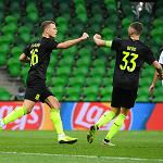 «Краснодар» обыграл ПАОК в первом матче раунда плей-офф Лиги чемпионов