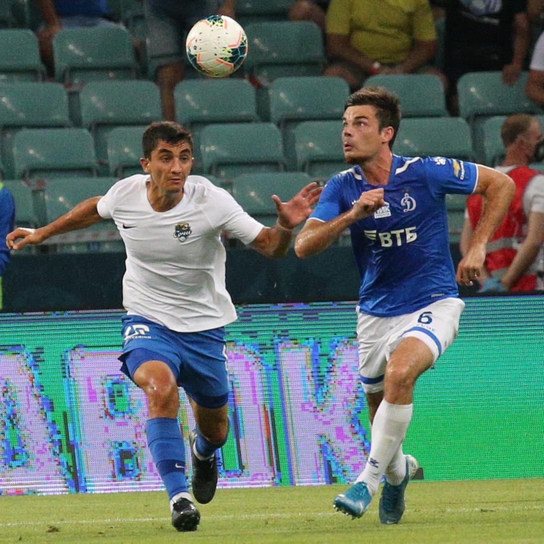 «Сочи» сыграл вничью с «Динамо», забив в добавленное время