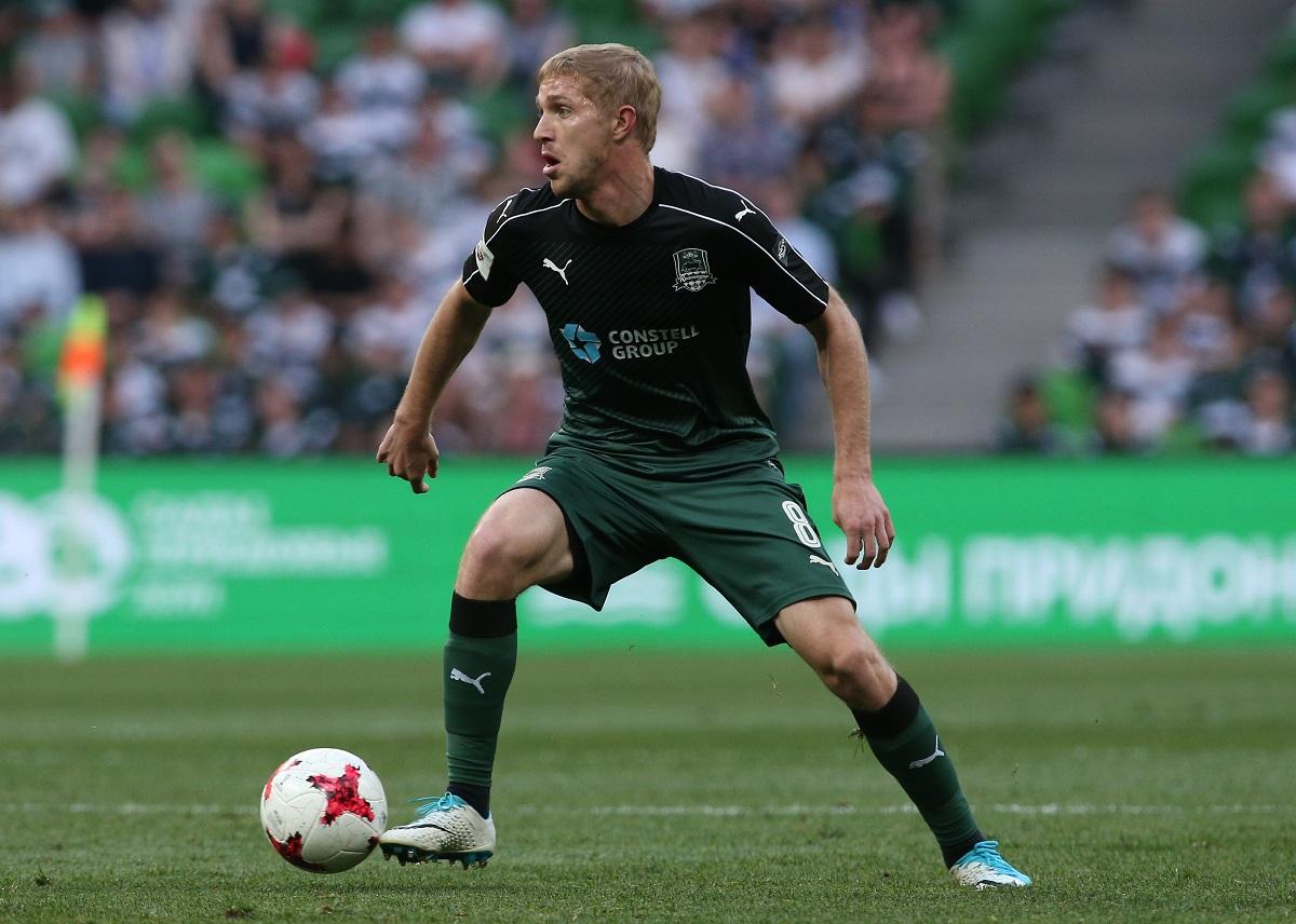 Юрий Газинский — лучший футболист Дальнего Востока 2017 года