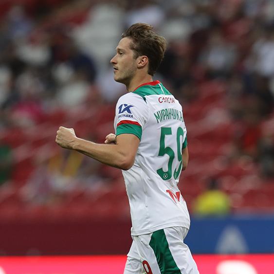 «Локомотив» обыграл «Рубин» благодаря дублю Алексея Миранчука