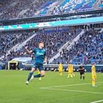 «Зенит» дома выиграл у «Арсенала» и возглавил таблицу
