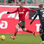 «Локомотив» одержал волевую победу над «Рубином»