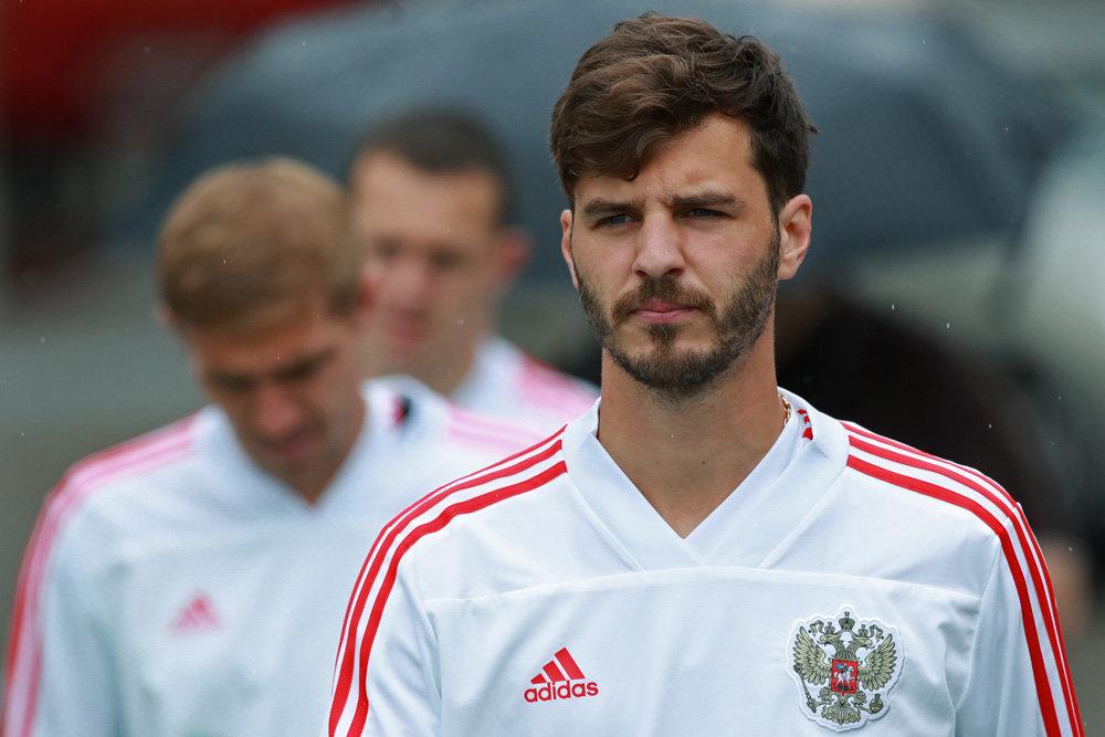 В составе сборной России Ерохин заменил Черышева