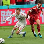 Сборная России завершила выступление на Евро-2020 после поражения от Дании