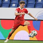 Юрий Жирков – пятый футболист, сыгравший 100 матчей за сборную России