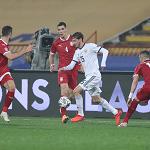 Сборная России проиграла Сербии в заключительном туре Лиги наций