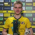 История 17-летнего Дениса Попова: в детстве был нападающим, дебютировал в молодёжке год назад
