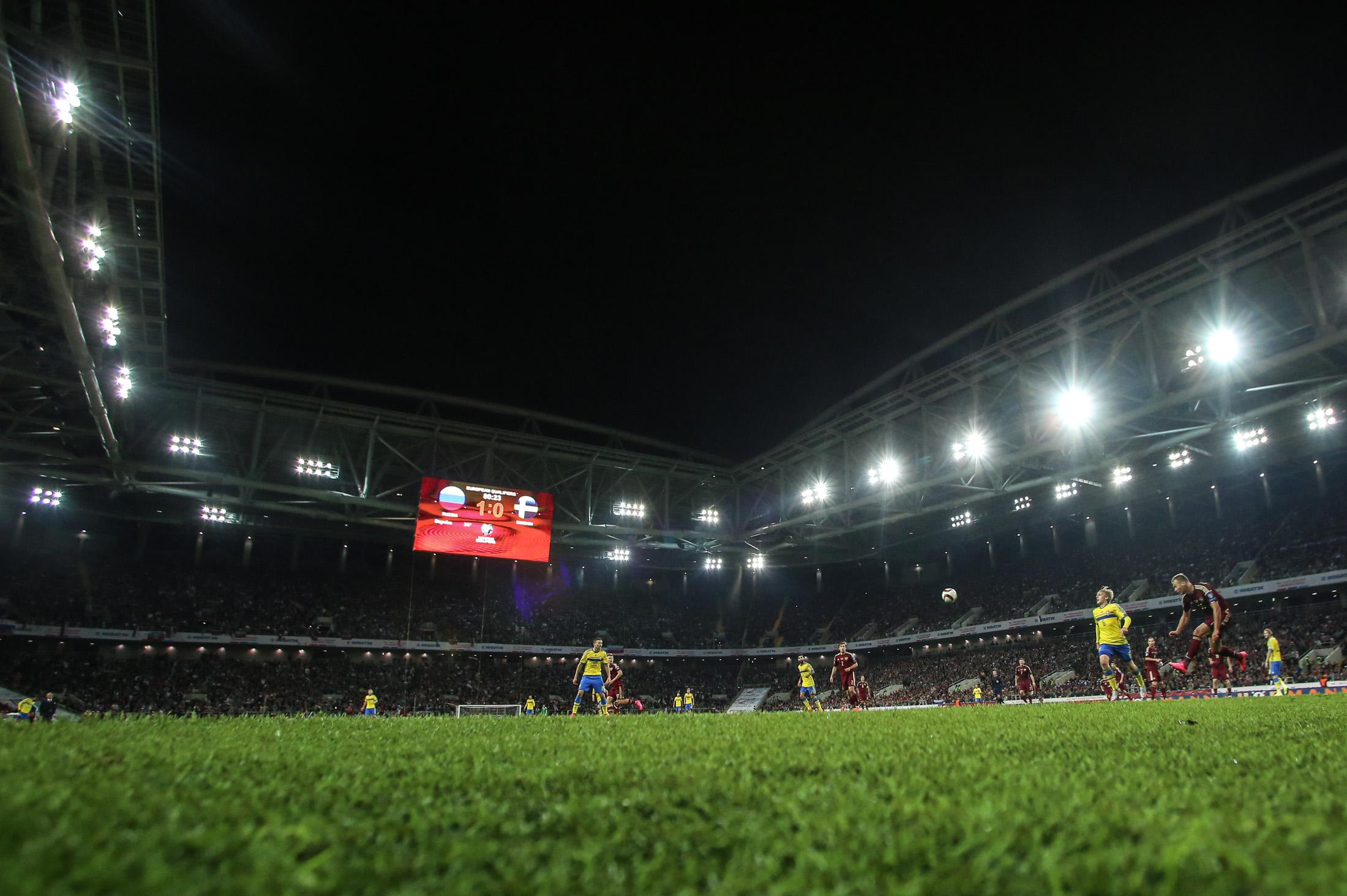 Стадионы готовы к старту Чемпионата
