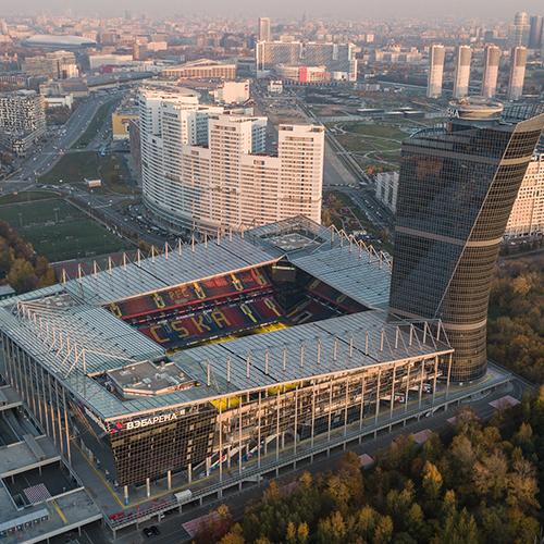 Стадионы РПЛ: «ВЭБ Арена»