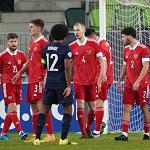 Молодёжная сборная России проиграла Франции во втором туре Евро-2021