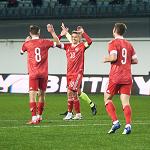 Дубль Чалова помог молодёжной сборной России разгромить Эстонию в отборе на Евро-2021
