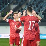 Молодёжная сборная России разгромила в гостях Латвию и вышла на Евро-2021
