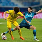 «Зенит» завершил выступления в Лиге чемпионов поражением от дортмундской «Боруссии»