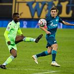 «Зенит» сыграл вничью с «Лацио» в Лиге чемпионов
