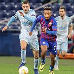 ЦСКА и загребское «Динамо» не забили голов в матче Лиги Европы