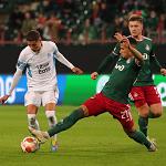«Локомотив» в меньшинстве вырвал ничью в матче с «Марселем» в Лиге Европы