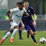 «Уфа» и «Зенит» сыграли вничью, Беленов отбил пенальти