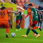 Гол Смолова помог «Локомотиву» уйти от поражения в матче с «Уралом»