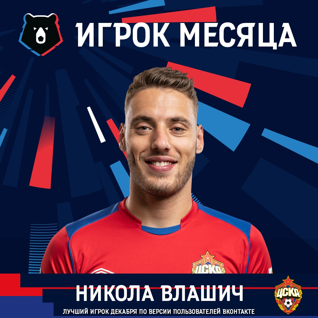 Никола Влашич - лучший игрок декабря