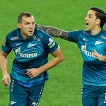 «Зенит» выиграл у «Динамо» благодаря дублю Дзюбы