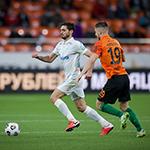 «Урал» и «Зенит» сыграли вничью на «Екатеринбург Арене»