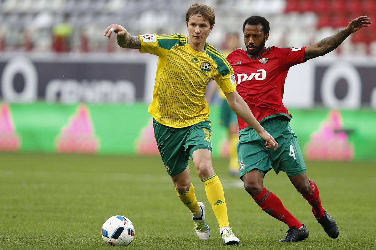 «Локомотив» потерпел поражение от «Кубани»
