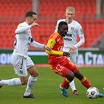 «Арсенал» обыграл «Урал» благодаря голу Александра Ломовицкого