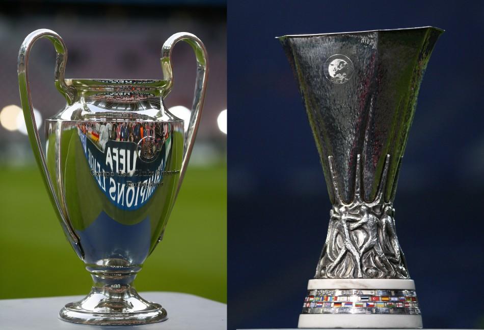 Клубы РФПЛ проведут матчи Лиги чемпионов и Лиги Европы