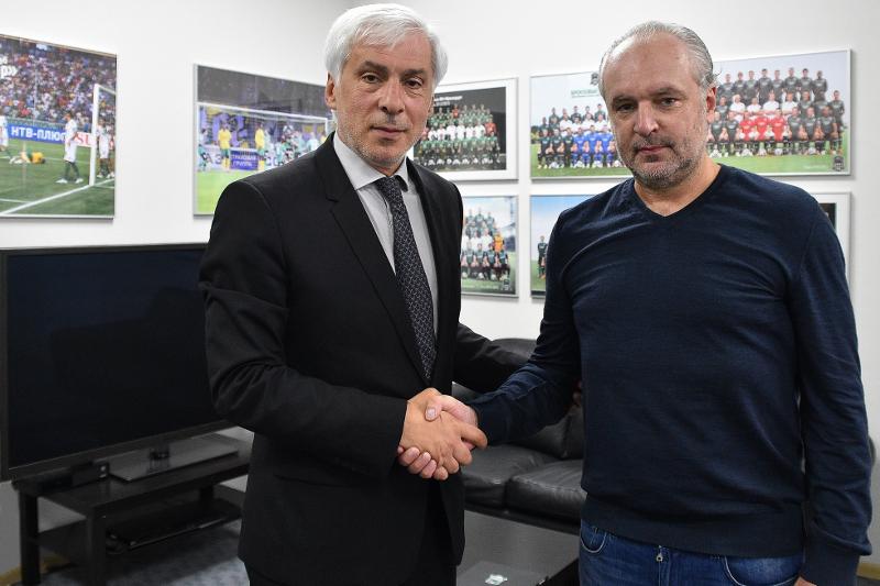 Игорь Шалимов официально стал главным тренером «Краснодара»