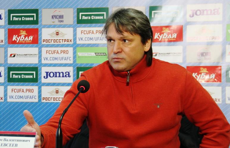 Вадим Евсеев назначен на пост главного тренера ФК «Амкар»