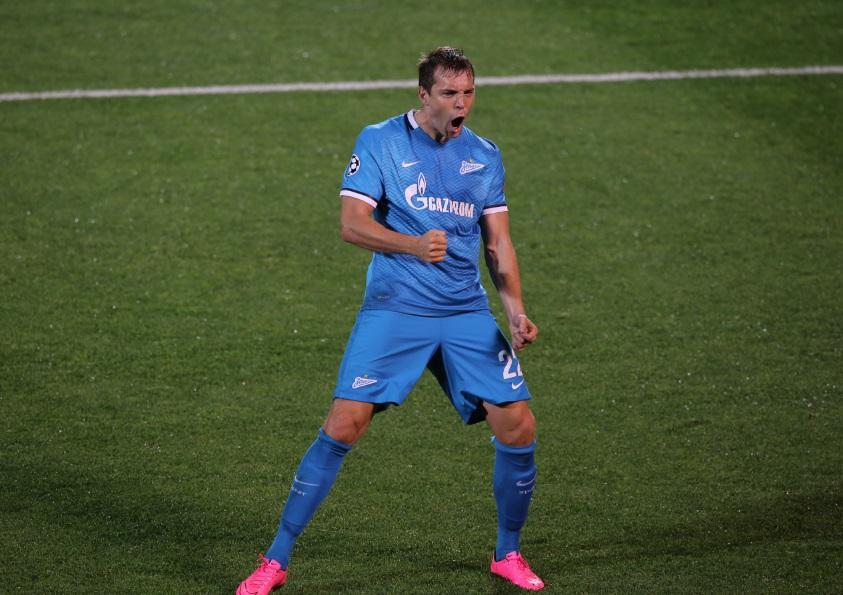 «Зенит» обыграл «Гент» в Лиге чемпионов