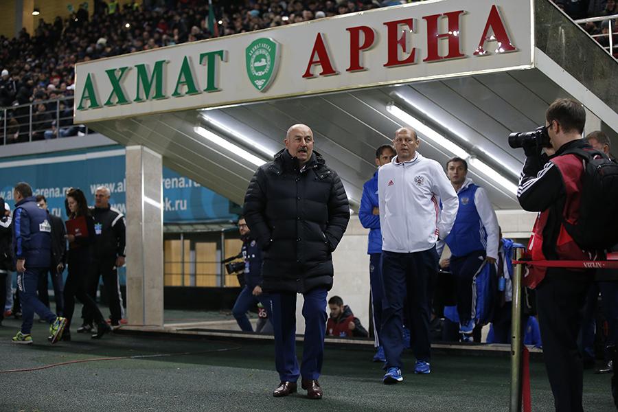 Станислав Черчесов: «Нас гнали вперед болельщики»