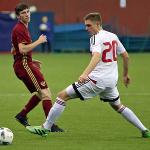 Cборная России завершила очередной матч крупной победой